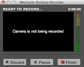 Camera is not being recorded alert