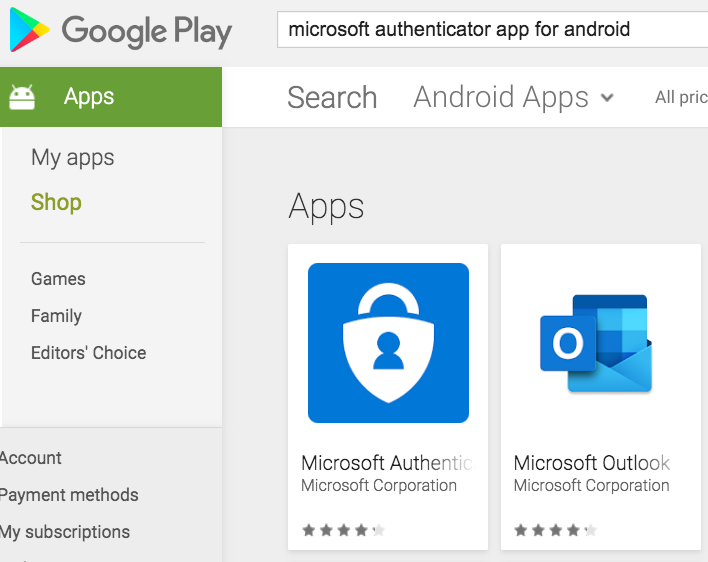 google play app search