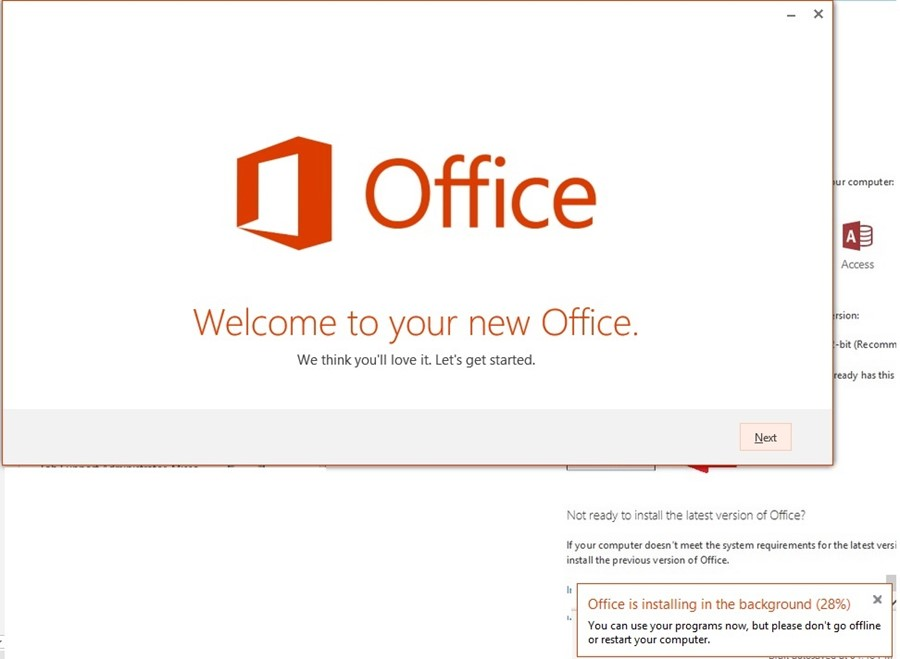 Welcome to Office Screen