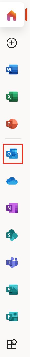 Outlook tile