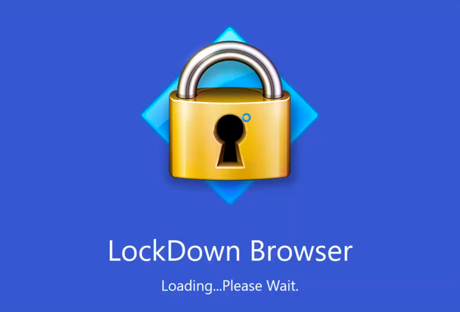 LockDown Browser entry screen.